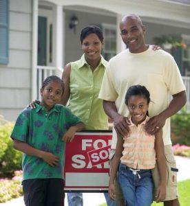 black family buy house