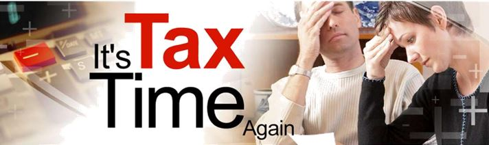 It's Tax Time Again…..