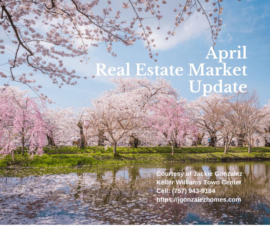 April Real Estate Market Update Virginia Beach Jackie Gonzalez