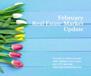 February Real Estate Market Update Virginia Beach Jackie Gonzalez