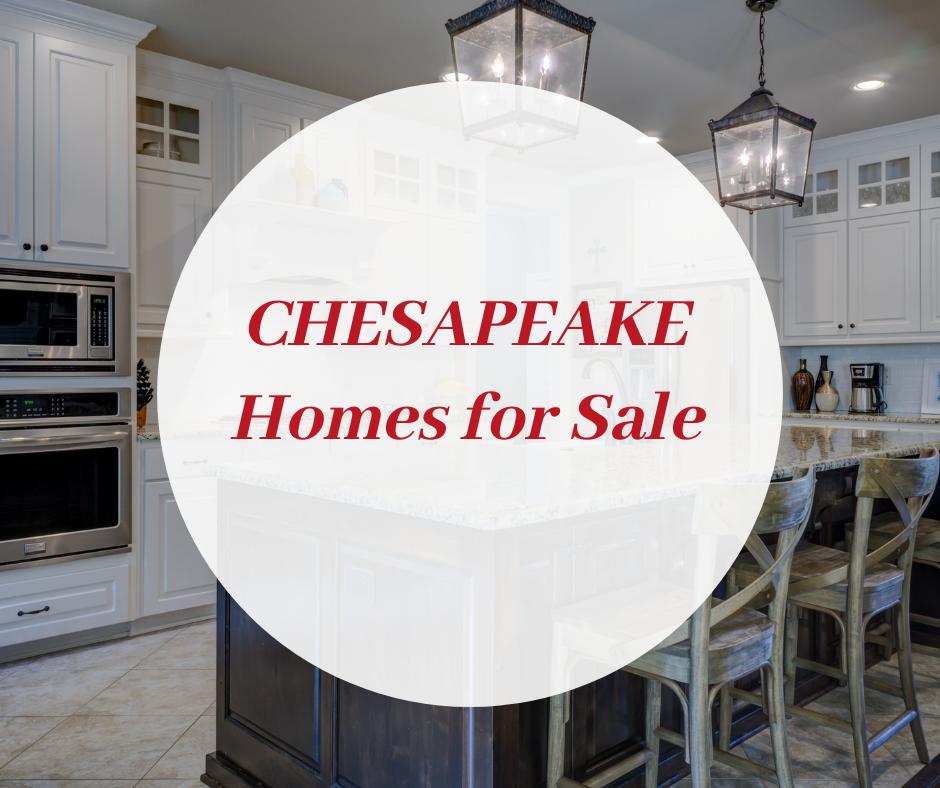 CHESAPEAKE VA homes for sale